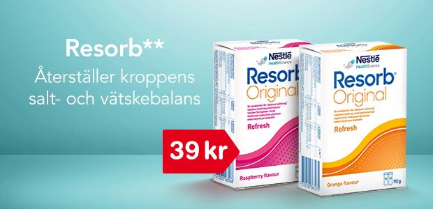 Resorb - från 39 kr