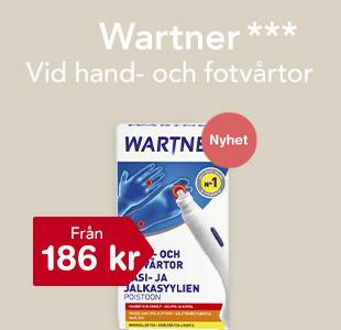 Wartner från 186 kr