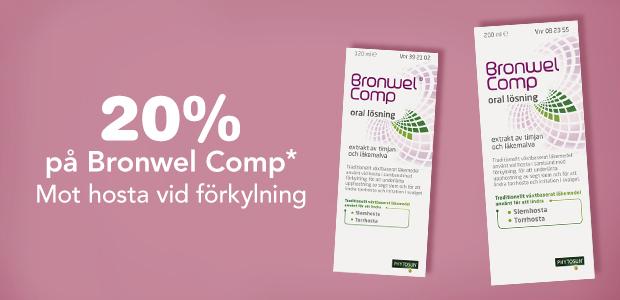 20% på Bronwel Comp*