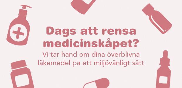 Vi samlar in dina gamla läkemedel