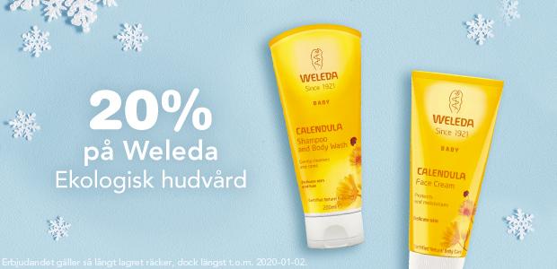 20% på Weleda