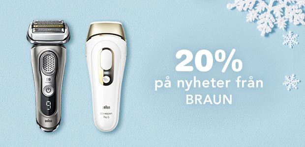 20% på Braun