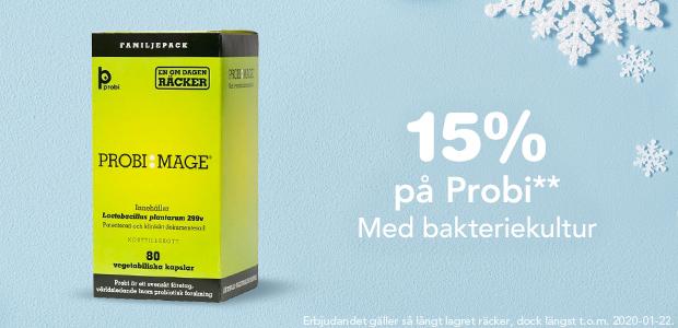 15% på ProbiMage