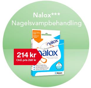 Nalox fotsvampsbehandling 214 kr