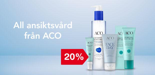 20% på ansiktsvård från ACO