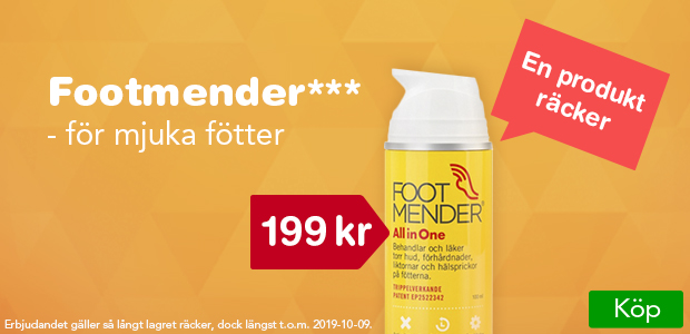 Footmender 199 kr