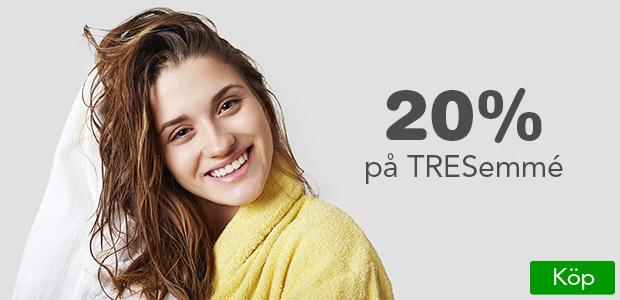 20% på proffessionell hårvård från TREsemmé.