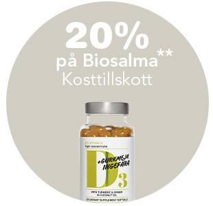 20% på BioSalma
