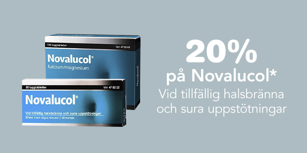 20% på Novalucol