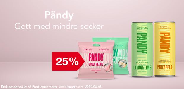 25% på Pändy