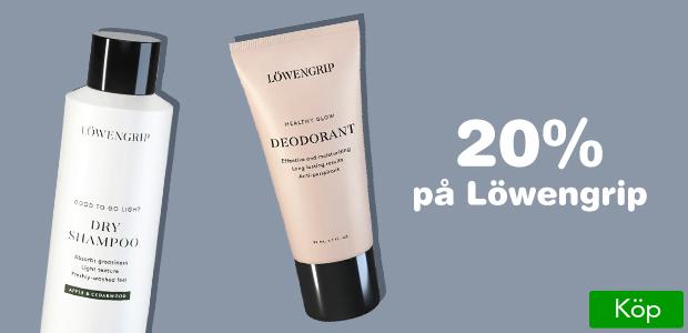20% på Löwengrip