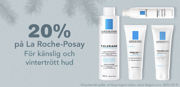 20% La Roche-Posay