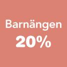 Barnängen 20%