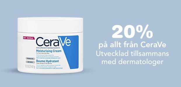 20% på CeraVe hudvård
