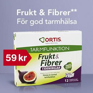 20% på Frukt & Fibrer