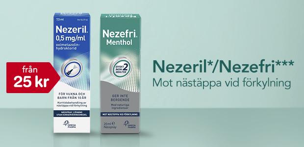 Nezeril/Nezefri* från 25 kr