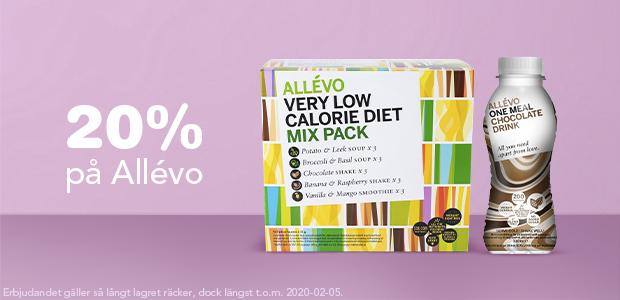 20% på Allevo