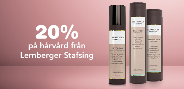 20% på hårvård från Lernberger Stafsing