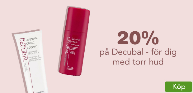20% på Decubal - för dig med torr hud