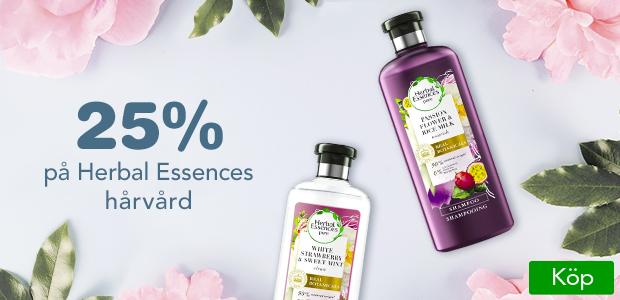 25% på Herbal Essences