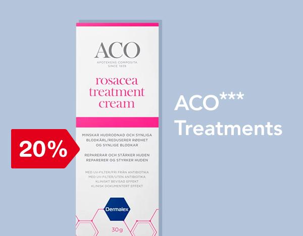 20% på Aco treatments