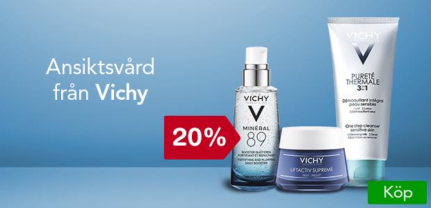 20% på ansiktsvård från Vichy