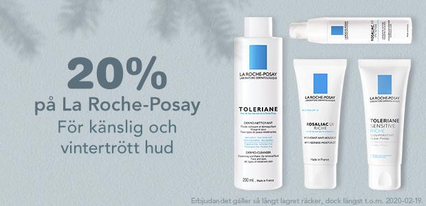 20% på La Roche Posay!