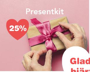 25% på presenttips inför Alla <3 Dag!