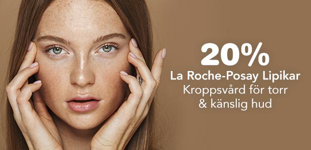 20% på La Roche-Posay Lipikar