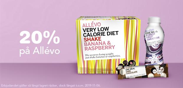 20% på Allévo