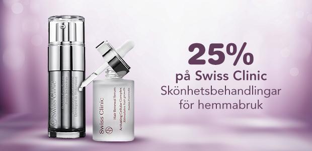 25% på Swiss Clinic