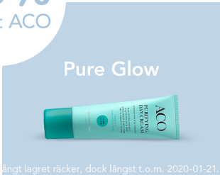 20% på Pure Glow