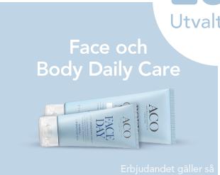 20% på Face och Body Daily Care
