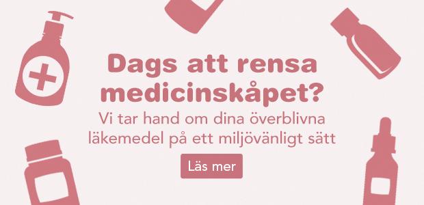 Vi tar hand om överblivna läkemedel