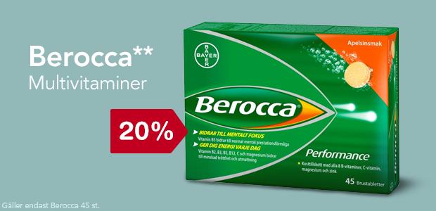 20% på Berocca**
