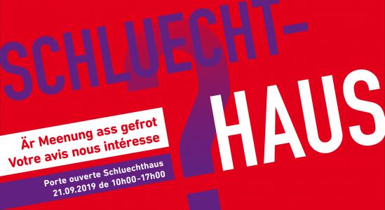 Journée porte ouverte Schluechthaus 21.09.2019