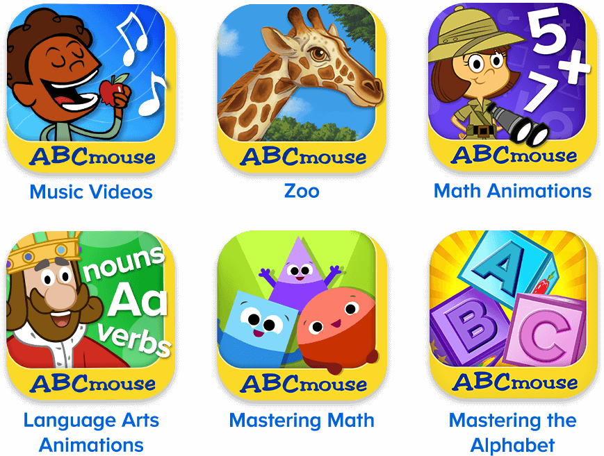 Free apps with your ABCmouse subscription!