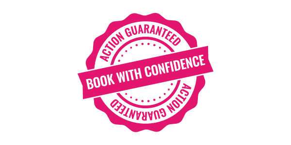 book with confidence stamp