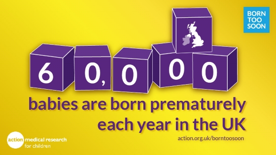 60,000 babies are born prematurely each year in the UK graphic