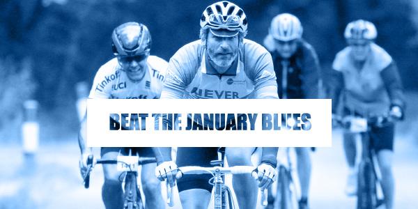 cyclist leading a peloton