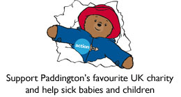 Action's official charity mascot