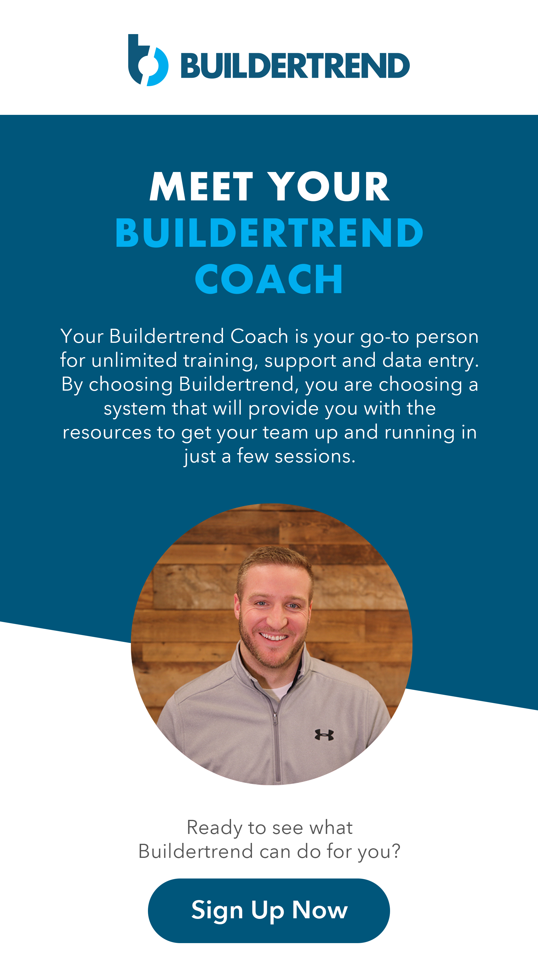 meet your buildertrend coach - sign up now