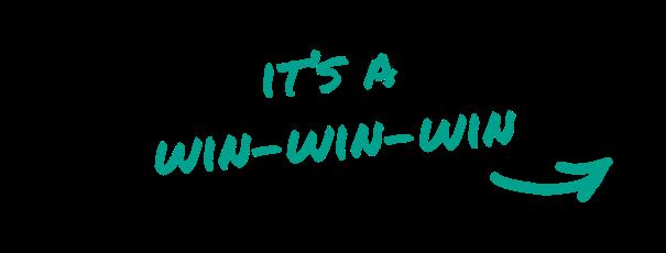 it''s a win-win-win