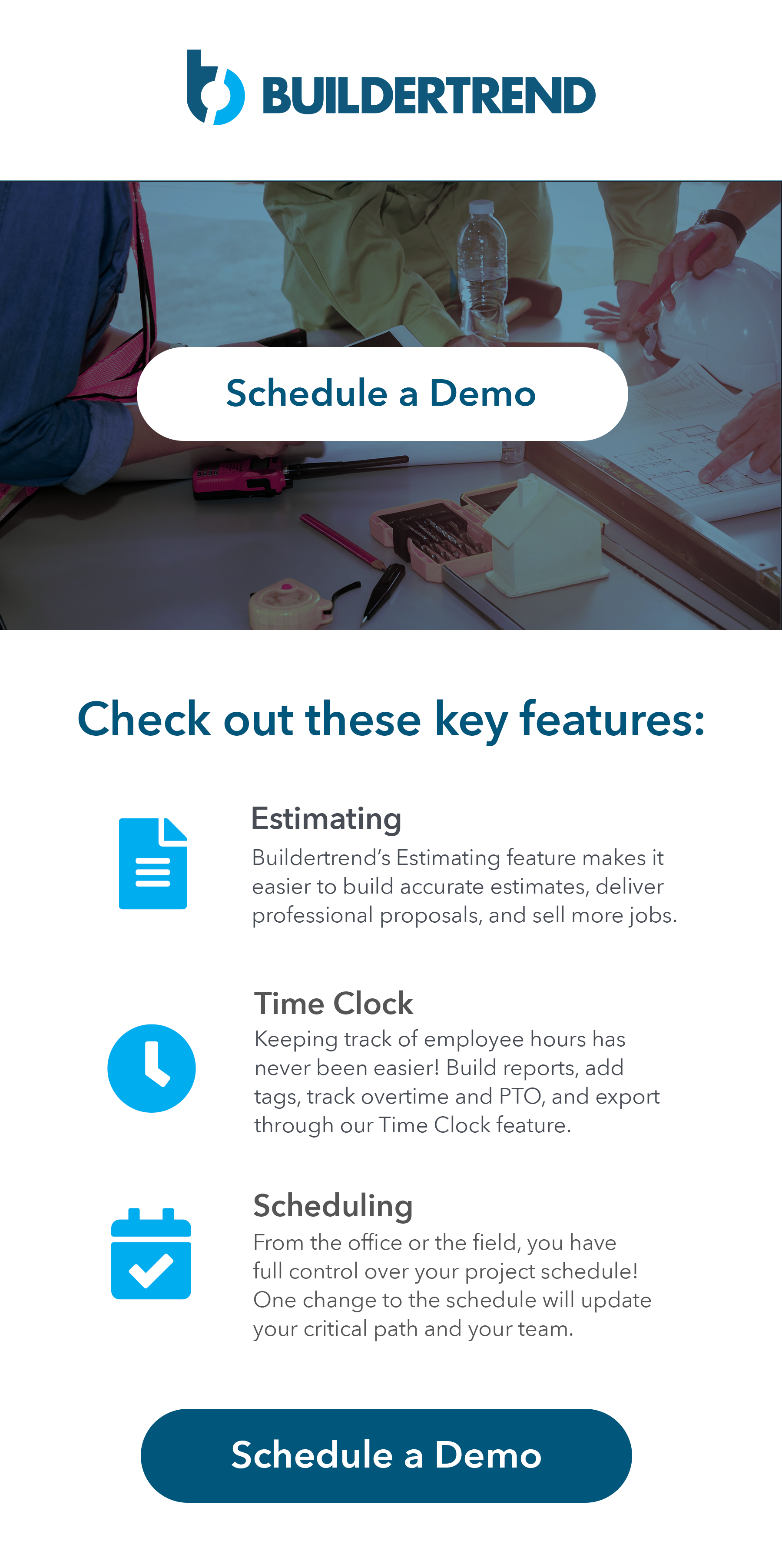 cheak out our key features- schedule your demo today