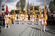Sikh procession.