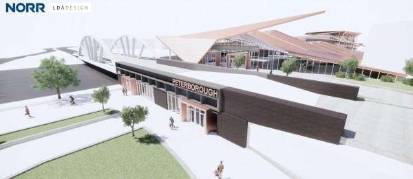 Station Quarter - proposed entrance - Jan 2020