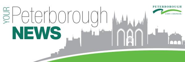 Peterborough City Council E-newsletter header.
