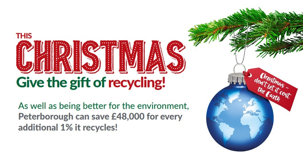 Christmas recycling campaign
