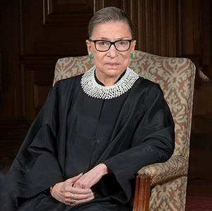 image of the late supreme court justice ruth bader ginsburg