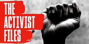 The Activist Files logo